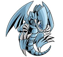 Blue-Eyes Toon Dragon Photographic Print