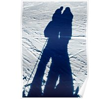 shadows on the snow Poster