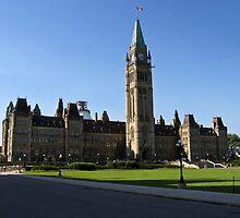 Parlement du Canada -- Ottawa by Nathalie Chaput
