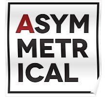 Asymmetrical Poster
