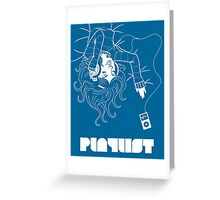 Playlist Greeting Card