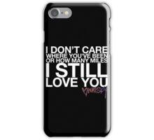 """Watsky Lyric #3"" iPhone Case/Skin"