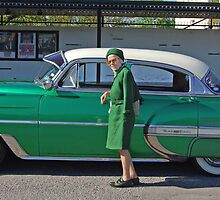 The lady in green #2 by Paola Svensson