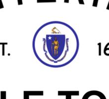 Title Town - Boston, MA Sticker