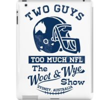 Two Guys Too Much NFL iPad Case/Skin
