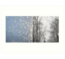 {glittery} Art Print