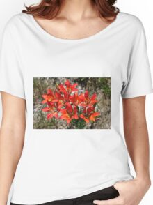 Wood Lily/Western Wood Lily Lilium philadelphicum Women's Relaxed Fit T-Shirt