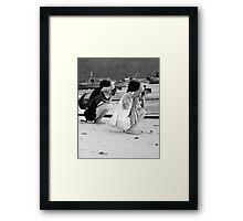 Beach Photographers Framed Print