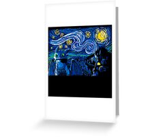 Starry Berk Greeting Card
