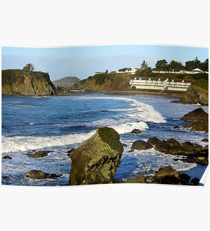 Chetco point view point Poster