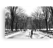 The Mall - Central Park Canvas Print