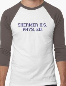 Shermer High School Physical Education Men's Baseball ¾ T-Shirt