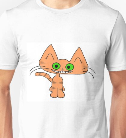 Tiger Kitten with a Big Smile Unisex T-Shirt