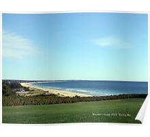 From Watch Hill to Weekapaug Coastline Poster