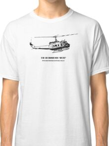 Huey Helicopter Graphic Classic T-Shirt
