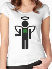 irish angel Women's Fitted Scoop T-Shirt