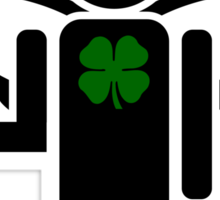irish angel Sticker