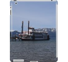 The Ms. Dixie II on Lake Tahoe iPad Case/Skin