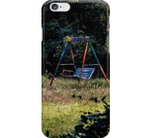 Swing Set iPhone Case/Skin
