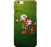 Little Legolas and Tauriel off on an Adventure iPhone Case/Skin