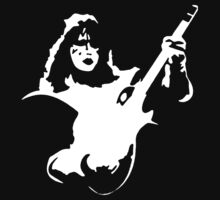 Stencil Ace Frehley Kids Clothes