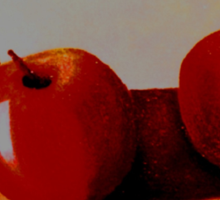 Apples all Over  Sticker