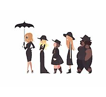 American Horror Story Cartoon Photographic Print