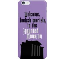 Haunted Mansion - Disneyland iPhone Case/Skin