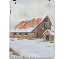 Winter Barn iPad Case/Skin