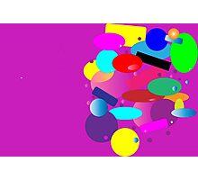 Color Color Color Photographic Print