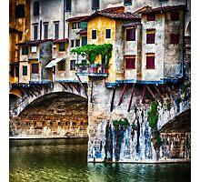 Little Balcony on Ponte Vecchio  Photographic Print