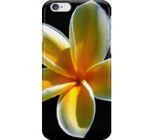 Yellow Plumeria iPhone Case/Skin