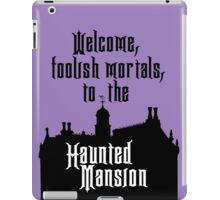 Haunted Mansion - Walt Disney World iPad Case/Skin