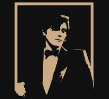 Stencil Bryan Ferry On Stage T-Shirt
