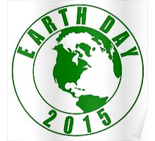 Earth Day 2015 Green Design Poster