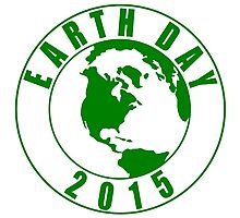 Earth Day 2015 Green Design Photographic Print