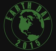 Earth Day 2015 Green Design One Piece - Long Sleeve