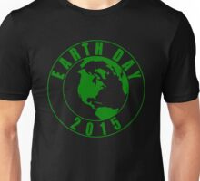 Earth Day 2015 Green Design Unisex T-Shirt