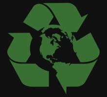Earth Day Recycle Reuse Reduce Design by EthosWear