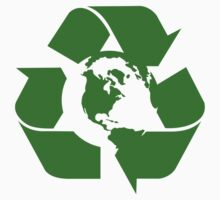 Earth Day Recycle Reuse Reduce Design Kids Clothes
