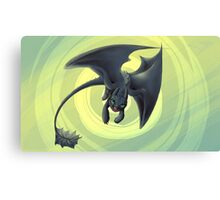 toothless variation 2 Canvas Print