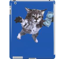 Awesome Grunge cat.  iPad Case/Skin