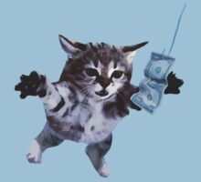 Awesome Grunge cat.  Kids Clothes