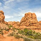 Primitive Trail in Arches National Park by Sue Smith