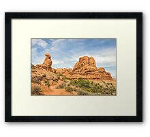 Primitive Trail in Arches National Park Framed Print