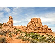 Primitive Trail in Arches National Park Photographic Print