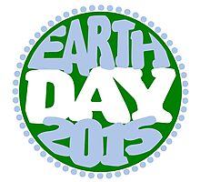 Earth Day 2 Color Design Photographic Print