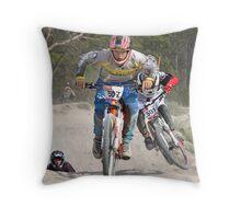 4X Racing Throw Pillow