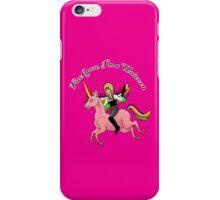F You I'm a Unicorn iPhone Case/Skin