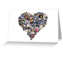 The heart of the matter. Greeting Card